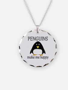 Penguin Happy Necklace