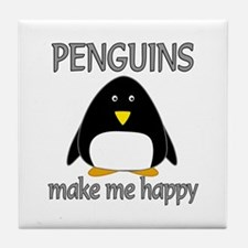 Penguin Happy Tile Coaster