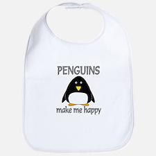 Penguin Happy Bib