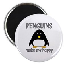Penguin Happy Magnet