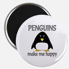 Penguin Happy Magnet