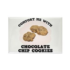 Comfort Chocolate Chip Cookies Rectangle Magnet