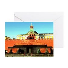 Cute Red pyramid Greeting Card