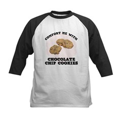 Comfort Chocolate Chip Cookies Kids Baseball Jerse