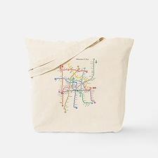 Cool Subway map Tote Bag