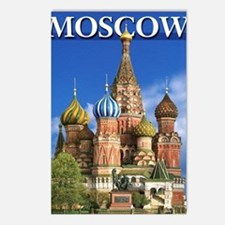 Cute Russian Postcards (Package of 8)