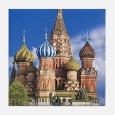 Cute Red square Tile Coaster