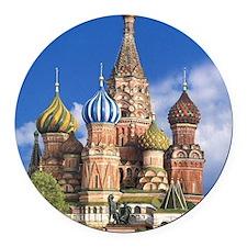 Funny Orthodox Round Car Magnet