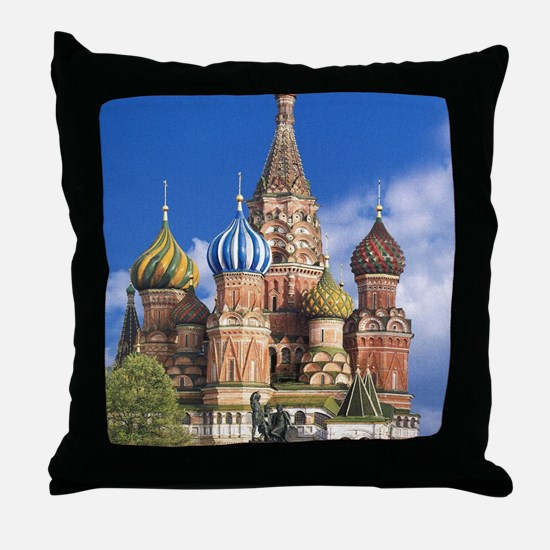 Unique Russian Throw Pillow