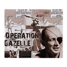 Unique Palestine Throw Blanket