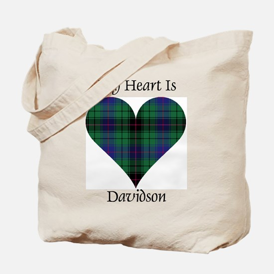 Heart - Davidson Tote Bag