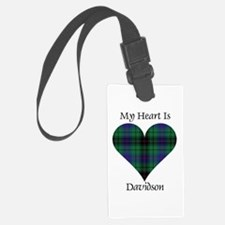 Heart - Davidson Luggage Tag