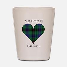 Heart - Davidson Shot Glass
