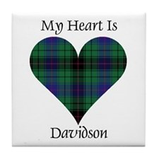 Heart - Davidson Tile Coaster