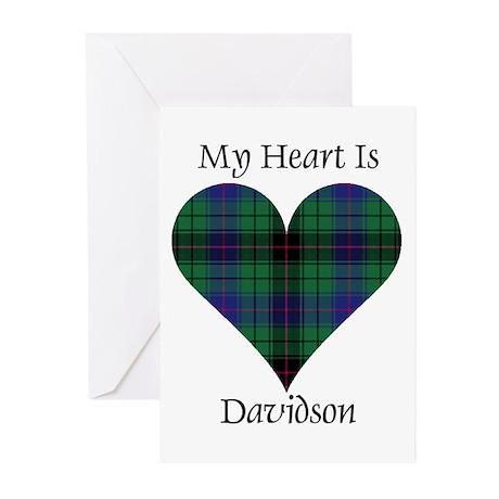 Heart - Davidson Greeting Cards (Pk of 10)