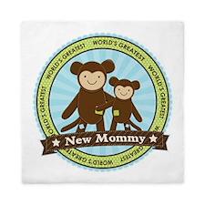 New Mom Monkey Queen Duvet