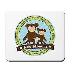 New Mom Monkey Mousepad
