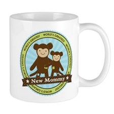New Mom Monkey Mug
