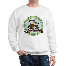New Mom Monkey Sweatshirt