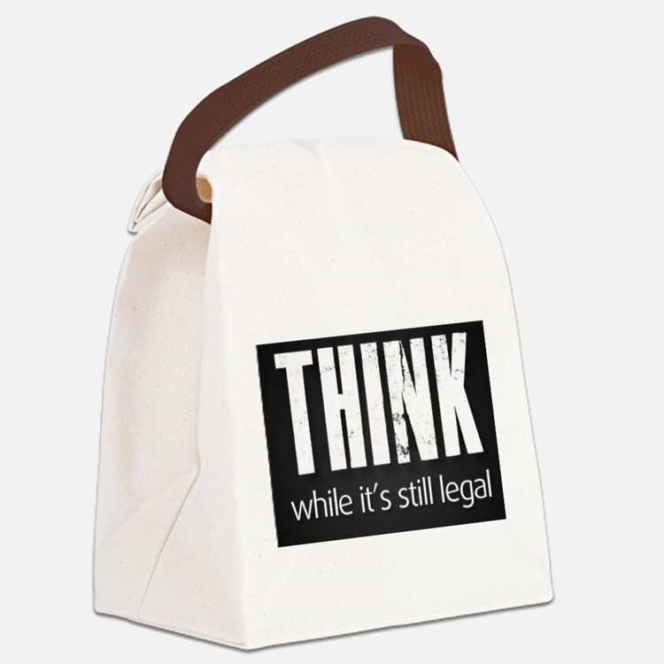 Cute Legal Canvas Lunch Bag