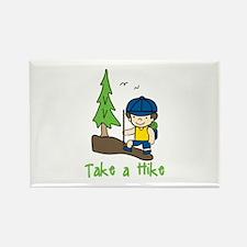 Take a Hike Magnets