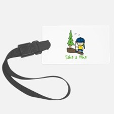 Take a Hike Luggage Tag