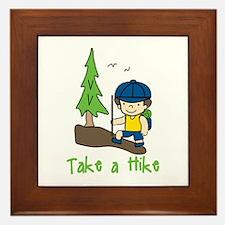 Take a Hike Framed Tile