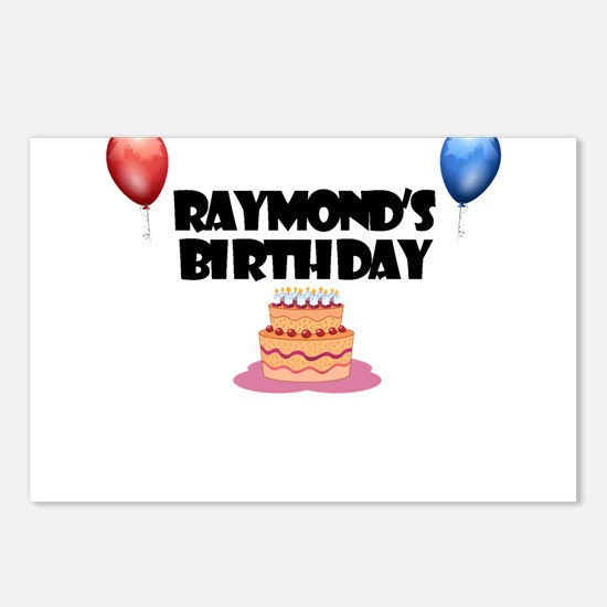 Raymond's Birthday Postcards (Package of 8)