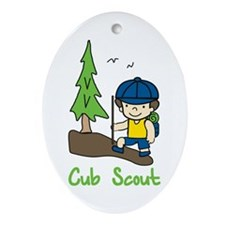 Cub Scout Ornament (Oval)
