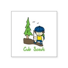 Cub Scout Sticker