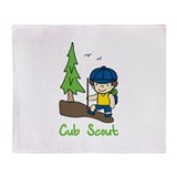 Cub scout Fleece Blankets