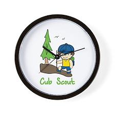 Cub Scout Wall Clock