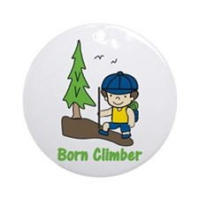Born Climber Ornament (Round)