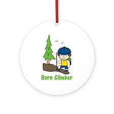 Born Climber Ornament (Round)