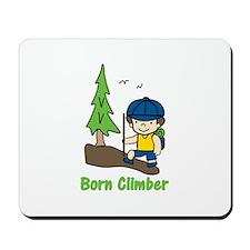 Born Climber Mousepad