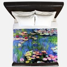 MONET WATERLILLIES King Duvet