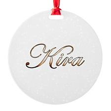Gold Kira Ornament