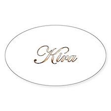 Gold Kira Decal