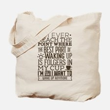 """""""Bad Coffee"""" Quote Tote Bag"""