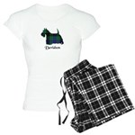 Terrier - Davidson Women's Light Pajamas