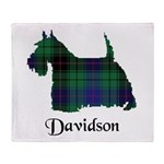 Terrier - Davidson Throw Blanket