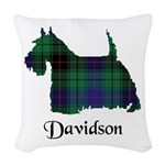Terrier - Davidson Woven Throw Pillow