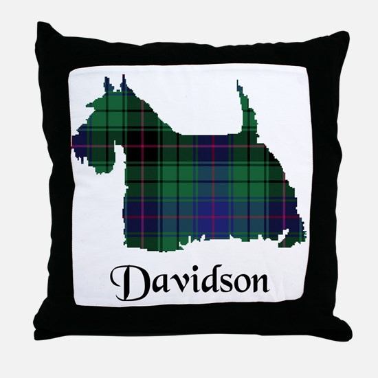 Terrier - Davidson Throw Pillow