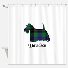 Terrier - Davidson Shower Curtain