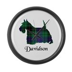 Terrier - Davidson Large Wall Clock