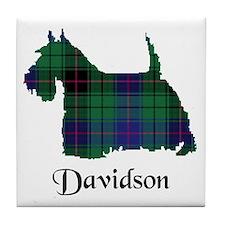 Terrier - Davidson Tile Coaster