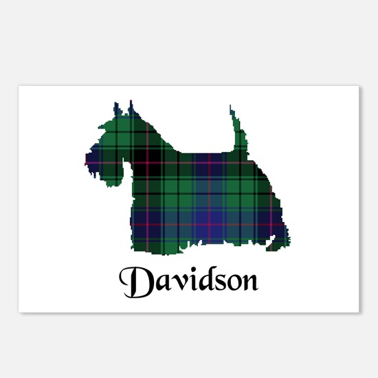 Terrier - Davidson Postcards (Package of 8)