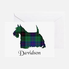 Terrier - Davidson Greeting Card