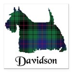Terrier - Davidson Square Car Magnet 3