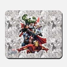Group Avengers Mousepad